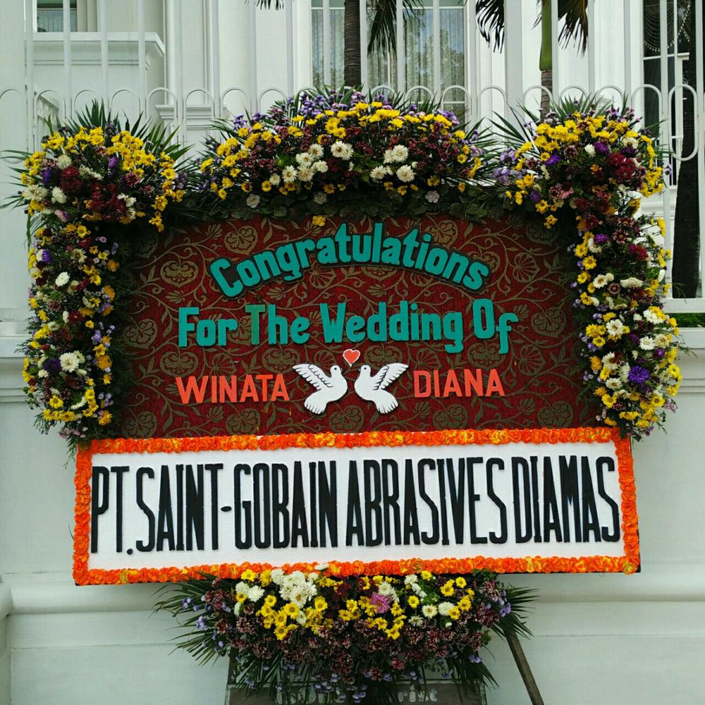 Karangan Bunga di Hotel Adimulia Medan