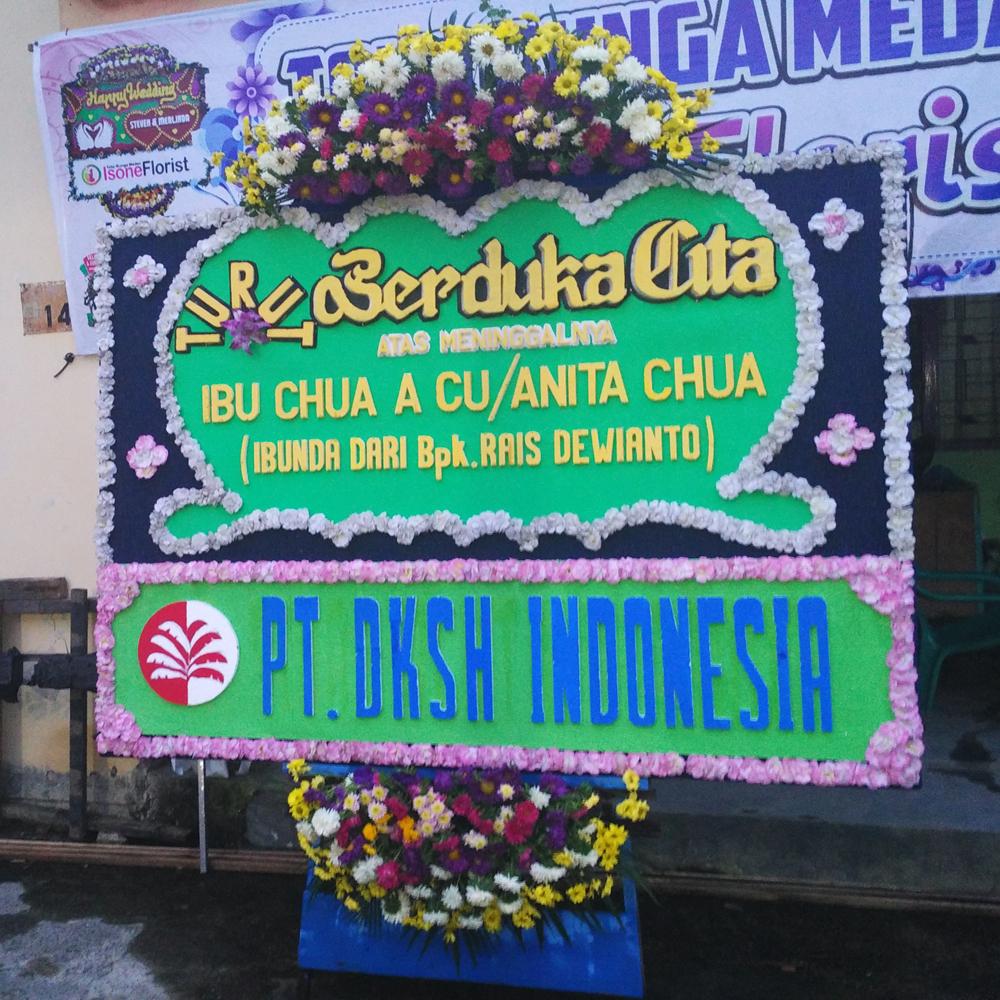 Karangan Bunga Berdukacita di Medan